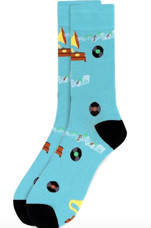 Men's Record Player Socks