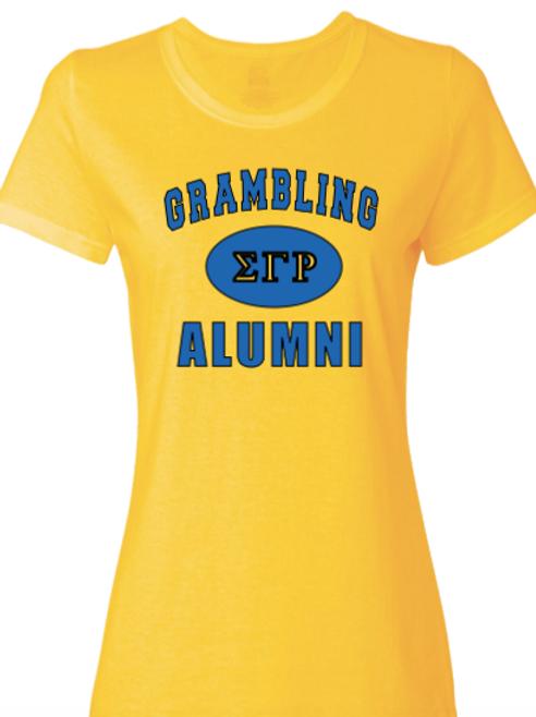 Grambling SGRho Alumni tee