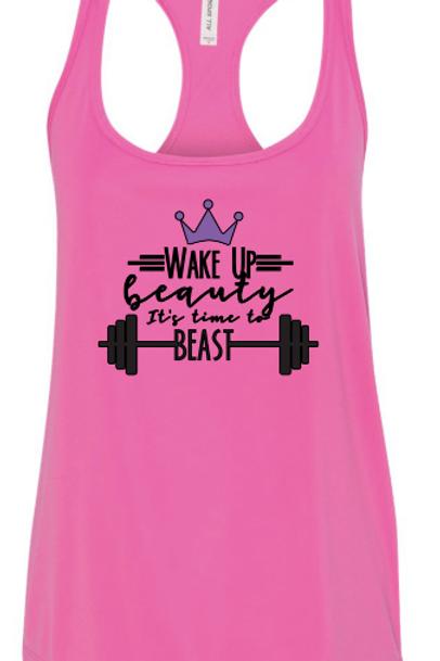 Wake Up Beauty, It's Time to BEAST(tank)