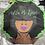 Thumbnail: Large DPsiE Afro Lady Umbrella