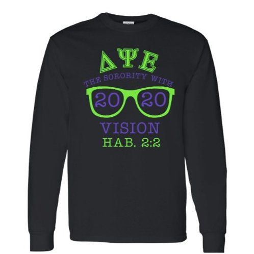 2020 Vision (DPsiE) long sleeve tee