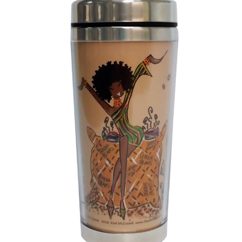 Coffee Queen Travel Mug