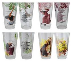 Praise Dance Drinking Glass Set