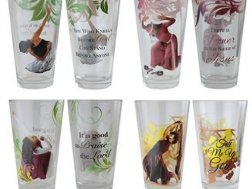 Praise Dancer Drinking Glass Set