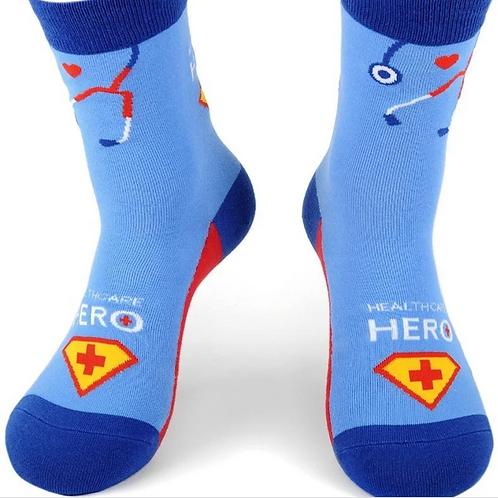Super Hero of Healthcare Socks