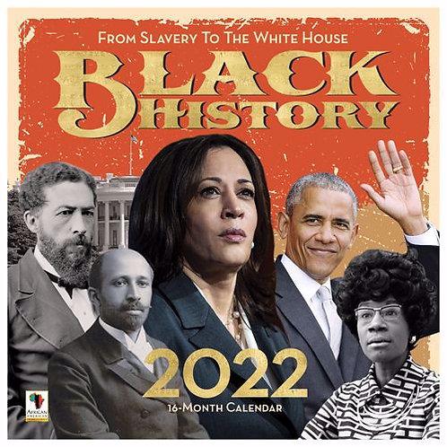 Black History 2022 Wall Calendar