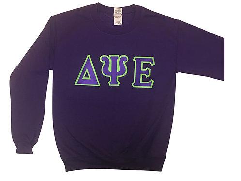 Double letter sorority sweatshirt