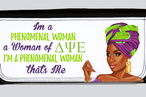 Phenomenal Woman(DPsiE) long wallet