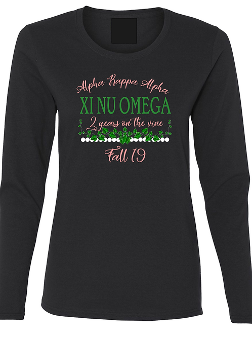 Long Sleeve Ladies Fit THEE 176 turns Two