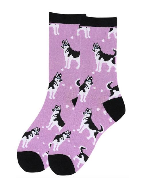 Women's Siberian Husky Socks