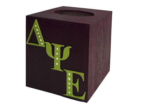 Delta Psi Epsilon Tissue Box