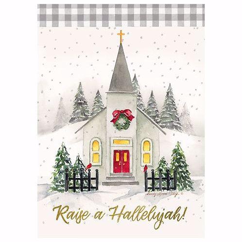 Raise a Hallelujah Christmas Cards