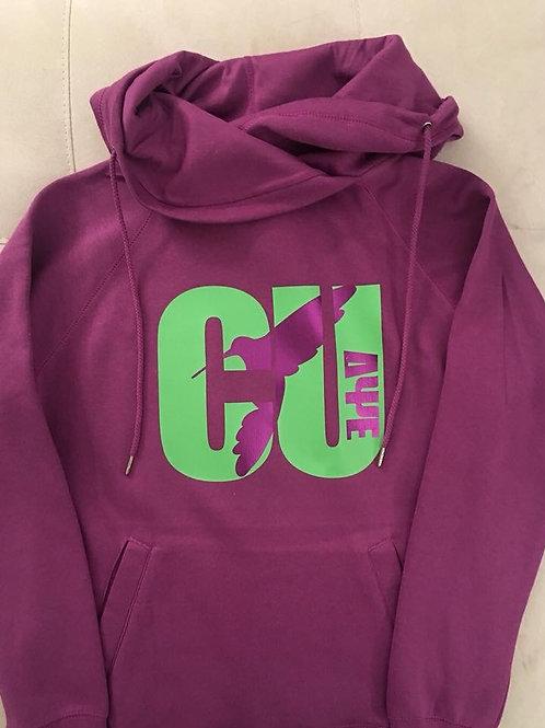 CU Funnel neck hoodie