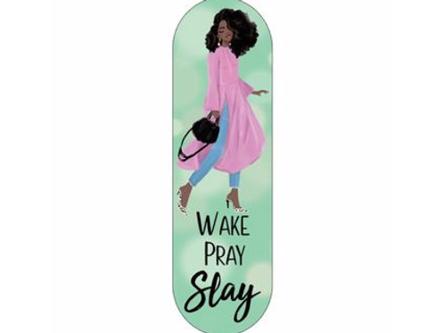 Wake Pray Slay Phone Grip
