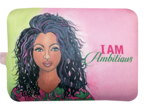 I Am Ambitious Convertible Neck Pillow