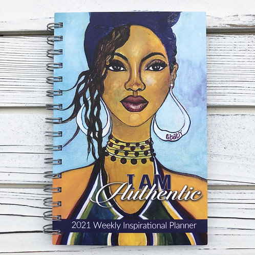 2021 I Am Authentic Inspirational Planner