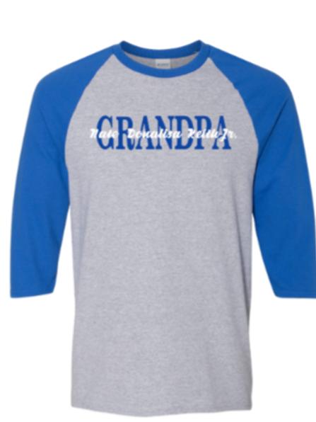 Grandpa baseball tee