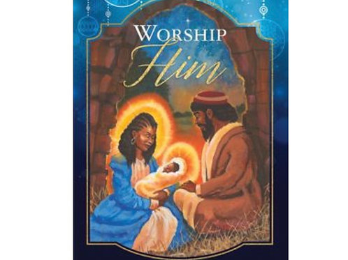 Worship Him, Nativity Card Set