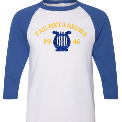 Tau Beta Sigma Baseball Tee