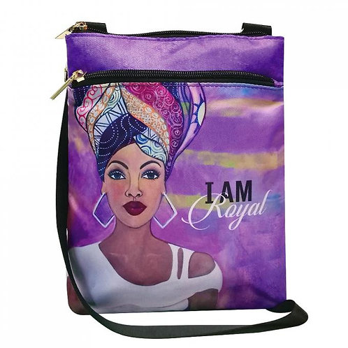 I am Royalty travel purse