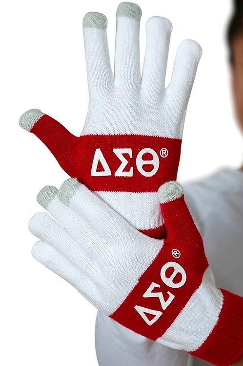 Delta Knit Texting Gloves