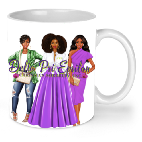 Ladies of DPsiE mug(white)