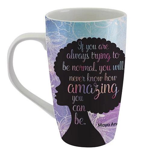 Maya Angelou Latte Mug