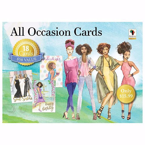 Phenomenal Women All Occasion Cards