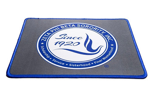 Zeta Seal Hemmed Mouse Pad