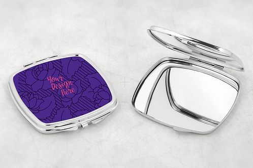 Personalize it! Compact mirror
