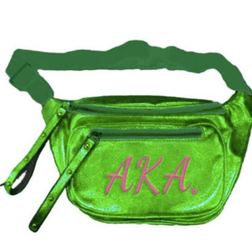 AKA Sorority Pizzazz Fanny Pack