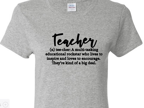Teacher: definition