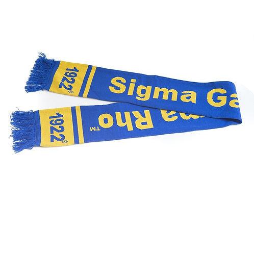 Sigma Gamma Rho Knit Scarf
