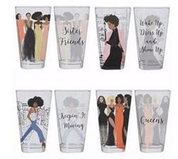 Girlfriends Drinking Glass Set