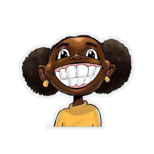 Brown Skin Girl Sticker