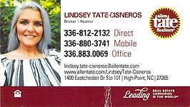 LINDSEY TATE-CISNEROS_ALLEN TATE REALTOR