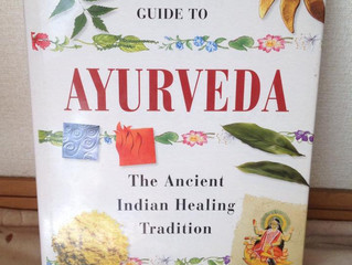 新しくアーユルヴェーダの英語本を買いました!
