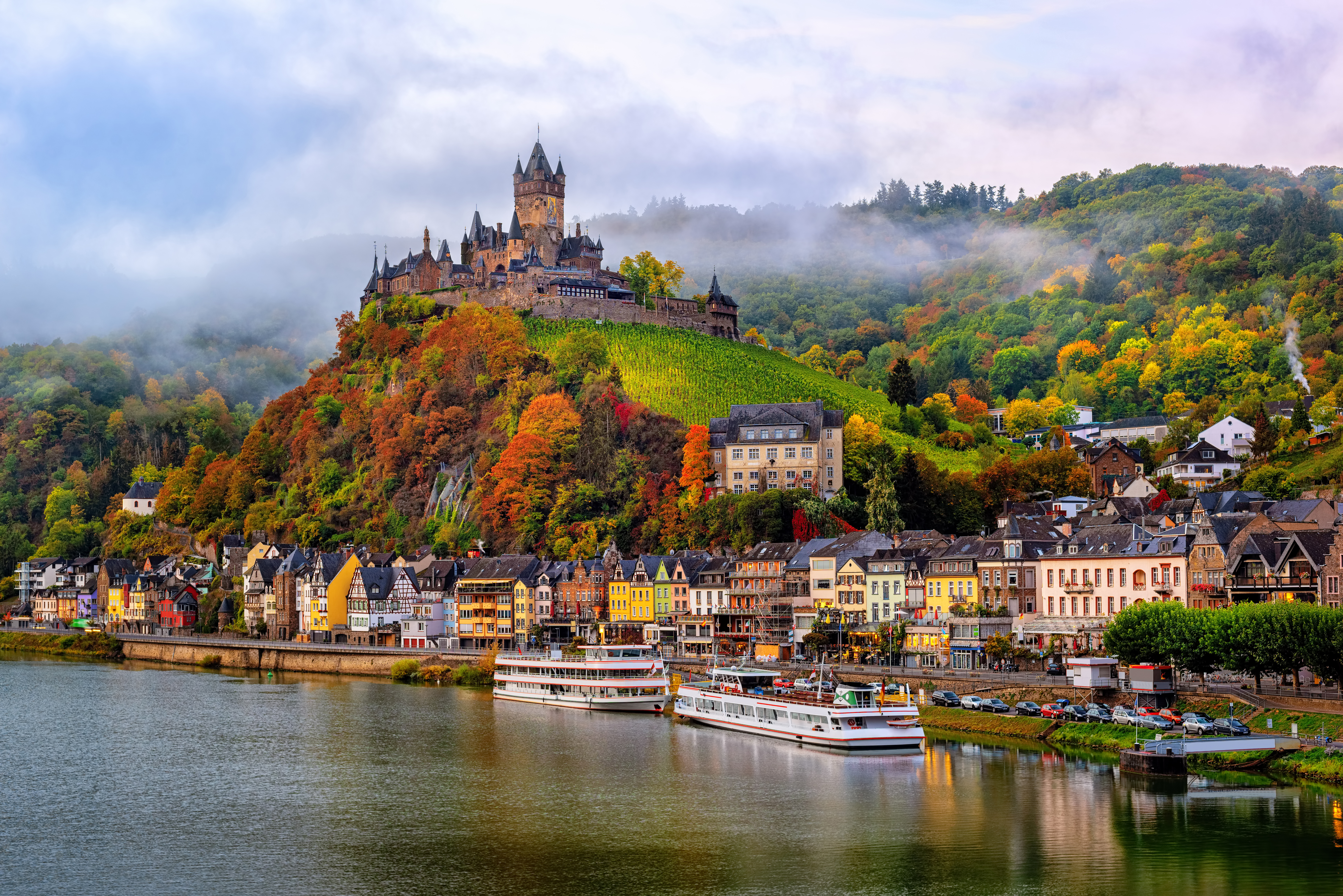 Cochem, Germany, beautiful historical to