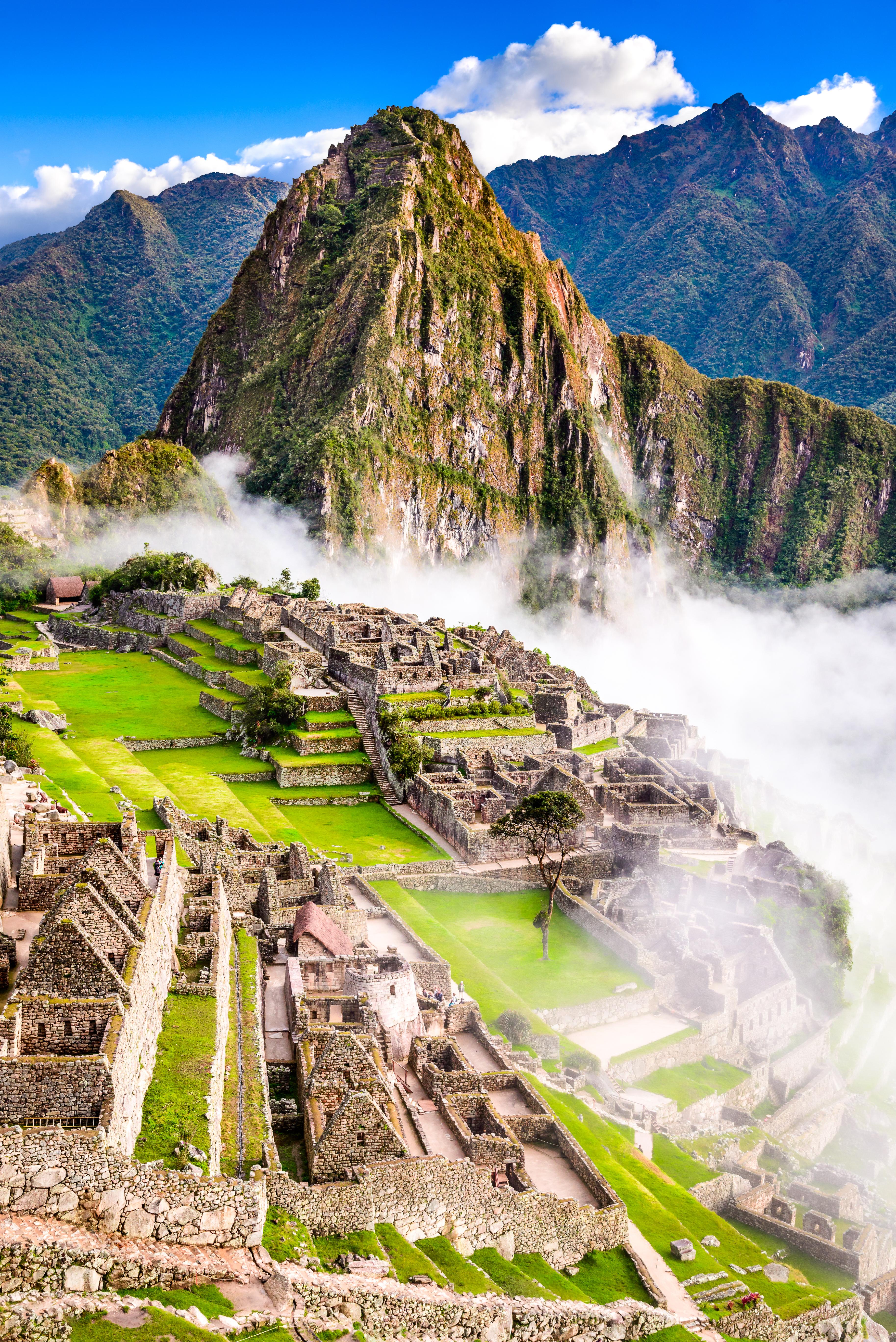 Machu Picchu, Peru - Ruins of Inca Empir