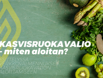 Miten aloittaa kasvisruokavalio?