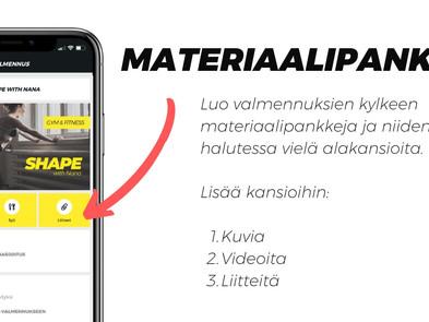 Uutta: materiaalipankki ja bannerikuvat SYKE-sovellukseen!