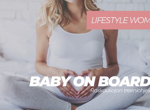Baby on board 1-3 - raskausajan verkkovalmennukset