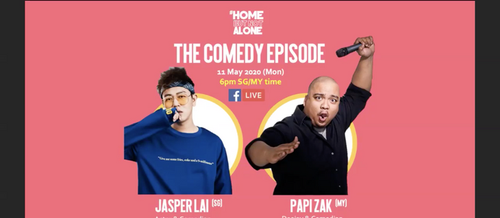#HomeButNotAlone: The Comedy Episode