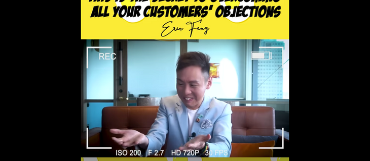 This is the secret to overcoming all your customers' objections