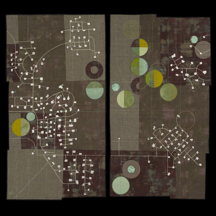 Oil and Water Diptych