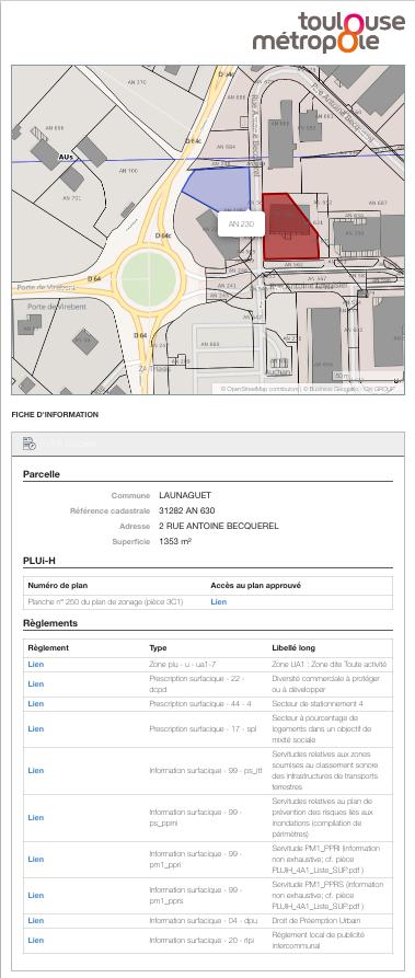 pluih toulouse urbanisme application developpement