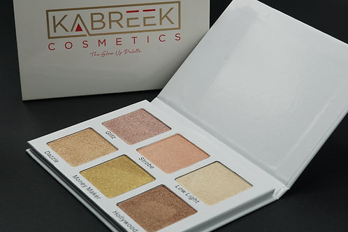 """The Glow Up Palette"" (Bronzer/Highlighter palette)"