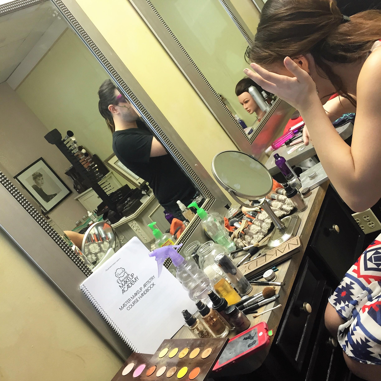 makeup school Houston