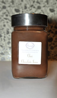 chocolate sauce, chai chocolate, chai chocolate sauce, home made chocolate sauce, indian chocolate