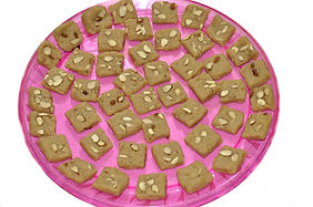 mithai, indian sweets, indian wedding favor, pakistani wedding, barfi, almond barfi, Tahoora, Sukhadia, Indian sweet catering